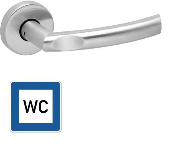 WC-Garnitur Griff Stelle