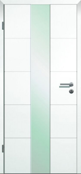 Design Innentür Style 1 Weißlack HG