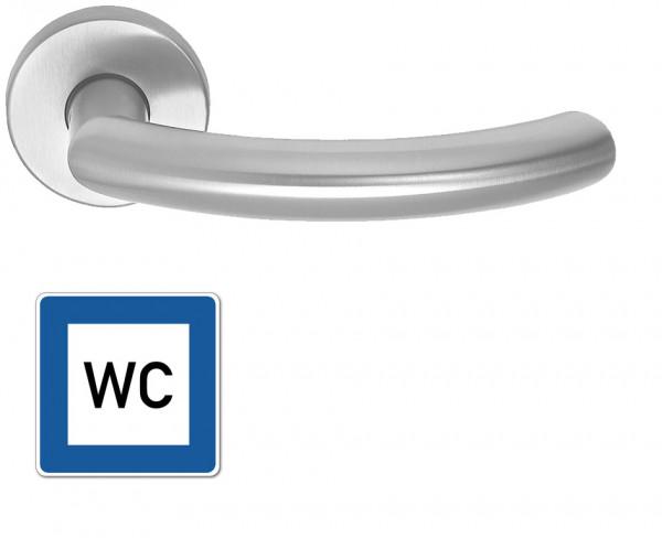 WC-Garnitur Griff Moordeich