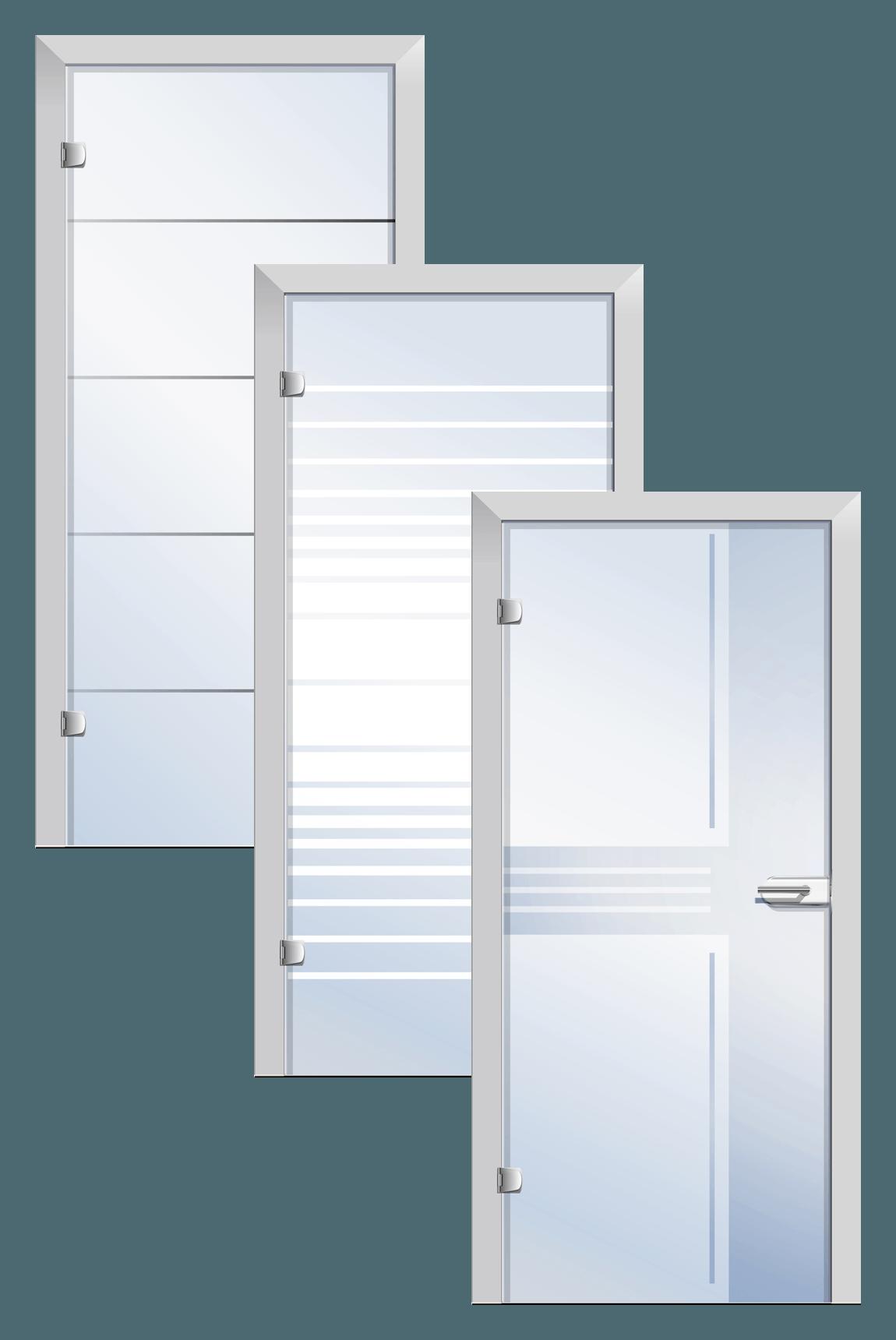 125 Ganzglastüren » verschiedenen Designs » Mehr Licht