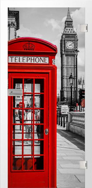 Ganzglastür Color Britain
