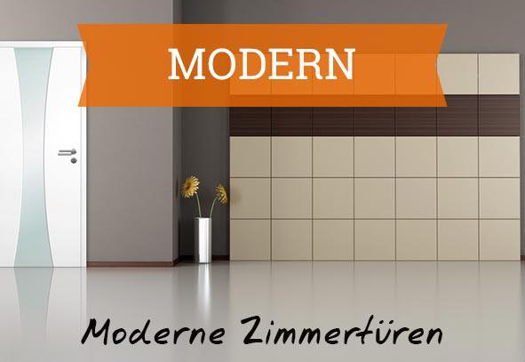 Moderne Zimmertüren