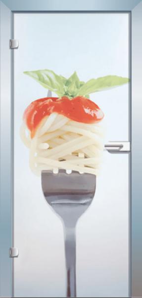 Ganzglastür Color Noodles